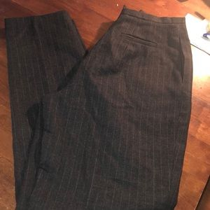 BERNARD COUTURE straight leg slacks